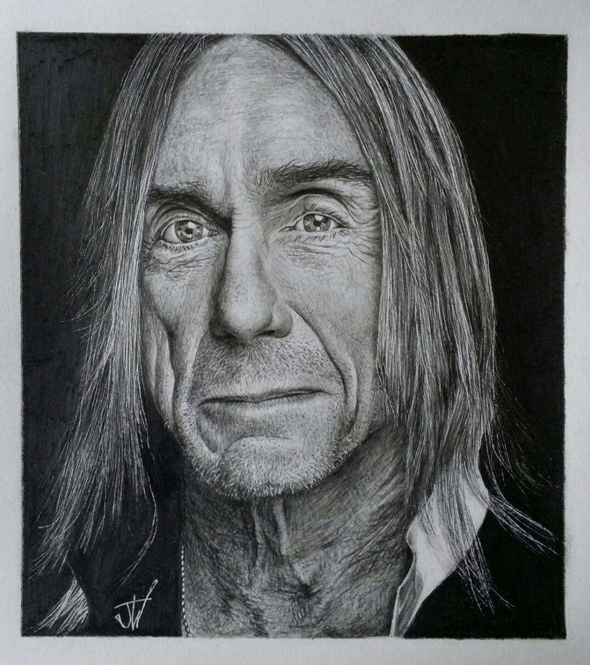 Iggy Pop by jeffcw